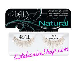 Ardell Ciglia Finte Natural Lashes 124 Demi Brown cod.62420