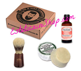 Dr K Soap Company Set Irish Shaving