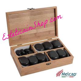 Melcap Kit 36 Pietre Basalto cod.SS0277
