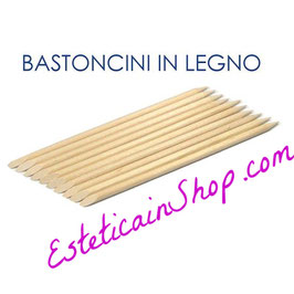 Bastoncini in legno Xanitalia