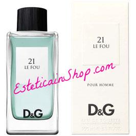 Dolce & Gabbana 21 Le Fou Eau de Toilette Uomo