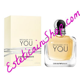 Emporio Armani Because It's You Eau de Parfum Donna
