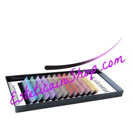 Kalentin Extension Curva D Doppio Tono Chiare Diametro 0.15mm