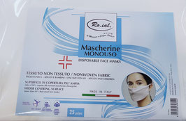 Roial Mascherine monouso 25pz