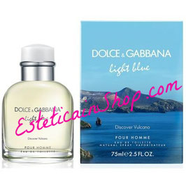 Dolce & Gabbana Light Blue Discover Vulcano Eau de Toilette Uomo