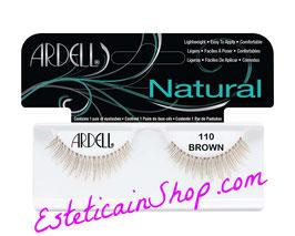 Ardell Ciglia Finte Natural Lashes 110 Demi Brown cod.61020
