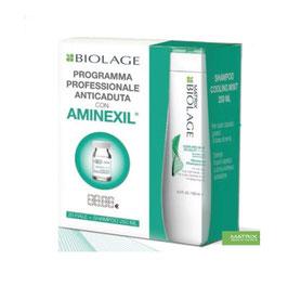 Matrix Biolage Scalpsynk Cofanetto Anticaduta Mint 20fiale+Shampoo 250ml