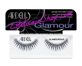 Ardell Ciglia Finte Glamours Glamorous Elegant Eyes Glittered Lashes Black cod.62014