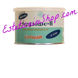Cera depilatoria liposolubile delicata al miele Depiwell 400ml
