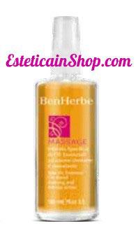 Ben Herbe Massage miscela specifica di olii essenziali ad azione drenante e rassodante. 100 ml