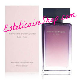 Narciso Rodriguez For Her Eau de Toilette Delicate Limited Edition 75ML Donna