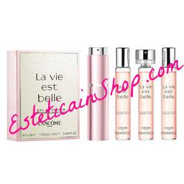 Lancome La Vie Est Belle Vaporisateur de Sac + 3 recharges 18ML Eau de Parfum Donna