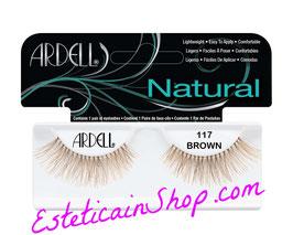 Ardell Ciglia Finte Natural Lashes 117 Demi Brown cod.61720