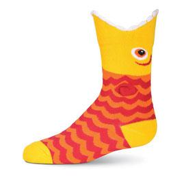Kid's Wide Mouth Piranha Socks