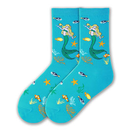 Women's Mystical Mermaid Crew Socks