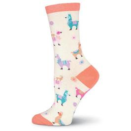Llamas Crew Socks