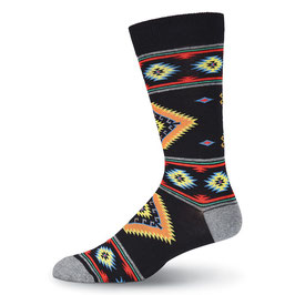 Southwest Blanket Crew Socks