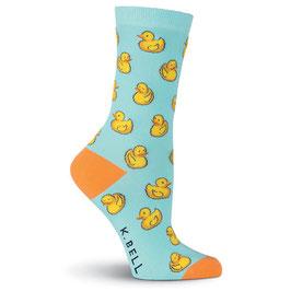 Women's Rubber Ducks Crew Socks