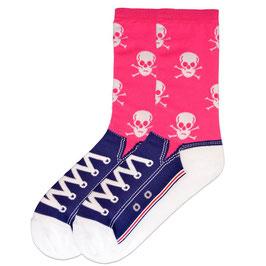 Skull Sneaker Socks