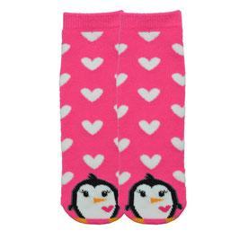 Penguin Tube Slipper Socks