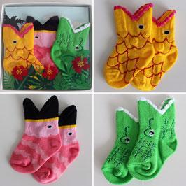 Kid's Tropical Trio Socks