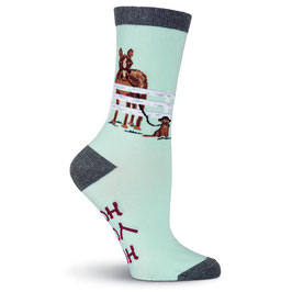 Hold Your Horses Crew Socks
