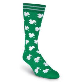 White Shamrocks Socks
