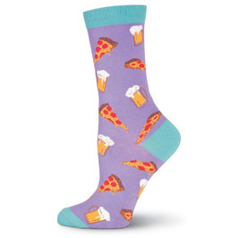 Pizza & Beer Crew Socks