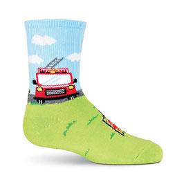 Boy's Fireman Crew Socks