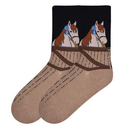 Blue Ribbon Horse Socks