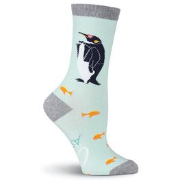 Women's Penguin Crew Socks
