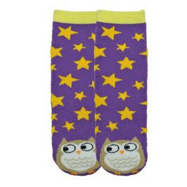 Owl Tube Slipper Socks
