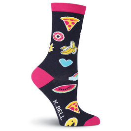 Women's Fashion Patches Crew Socks
