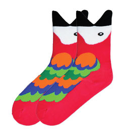 Wide Mouth Macaw Socks