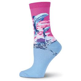 Dolphins Crew Socks