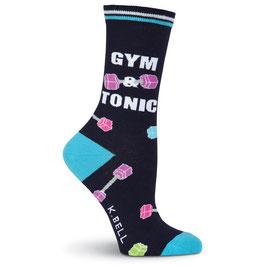 Women's Gym & Tonic Crew Socks