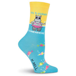 Women's 5 o'clock Somewhere Crew Socks