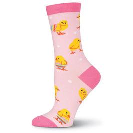 Easter Chicks Crew Socks