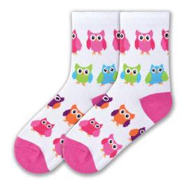 Colorful Owls Socks