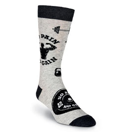 No Pain No Gain Crew Socks