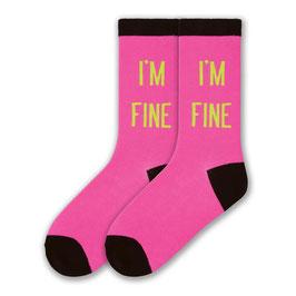 I'm Fine Socks