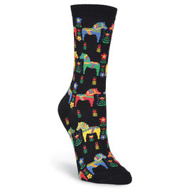 Swedish Horses Crew Socks