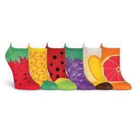Fruit 6 Pair Pack Socks