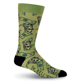 Men's Money Crew Socks