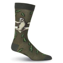 Men's Sloth Crew Socks