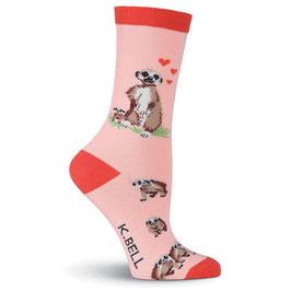 Women's Meerkats Crew Socks