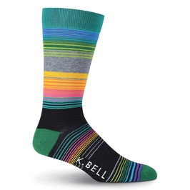 Men's Stripe 8 Crew Socks