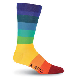Men's Stripe 12 Crew Socks