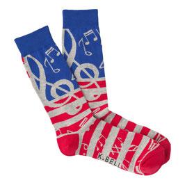 Men's USA Music Crew Socks