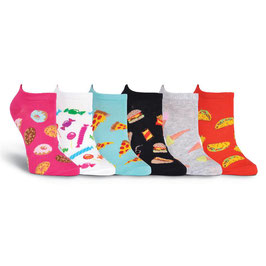 Women's Junk Food 6 Pair Pack
